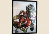 Julio Jones Atlanta Falcons Autographed Picture Lithograph